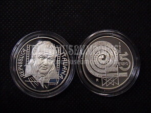 2005 Italia 5 Euro PROOF Fellini in argento