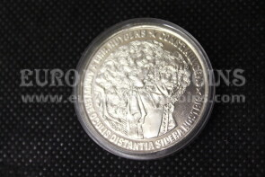 1989 Olanda 25 ECU Proof  Costantin Huygens in argento