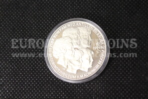 1992 Olanda 25 ECU Proof Giubileo in argento