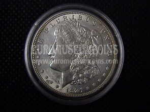 1921 Stati Uniti 1 Dollaro Morgan in argento