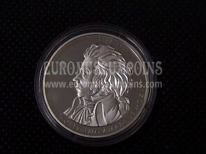 2006 Germania Mozart 10 Euro Proof in argento