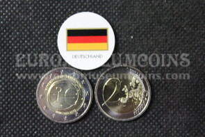 Germania 2009 EMU 2 Euro commemorativo Zecca casuale
