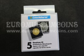 N.5 Capsule Quadrum XL per monete da 42 a 58 mm