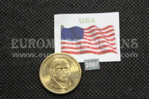 2007 Stati Uniti Thomas Jefferson zecca P dollaro Presidenti