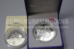 2003 Francia 1,5 Euro in argento PROOF Tour de France Arrivo a Parigi