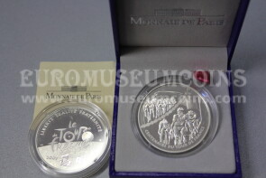 2003 Francia 1,5 Euro in argento PROOF Tour de France Sprint