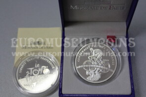 2003 Francia 1,5 Euro in argento PROOF Tour de France Ciclista