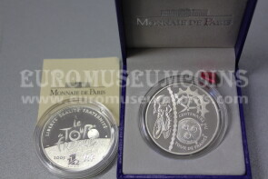 2003 Francia 1,5 Euro in argento PROOF Tour de France Cronometro
