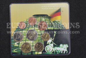 2002 Palazzo Reichstag Germania serie Euro