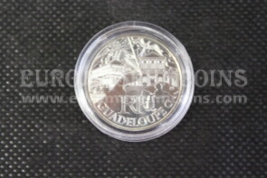 2011 Francia 10 Euro FDC in argento Guadeloupe
