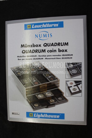 67 x 67 mm Box MB suddivisione quadrata neri