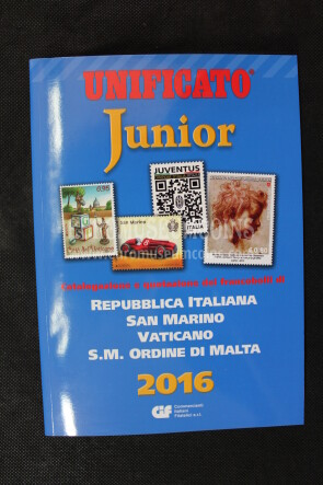 2016 Catalogo Unificato Junior francobolli