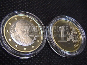 2006 Vaticano euro 1 proof da set ufficiale