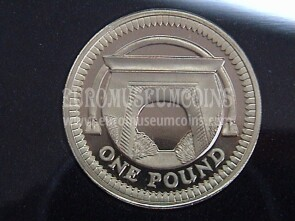 2006 Gran Bretagna moneta da 1 Pound proof