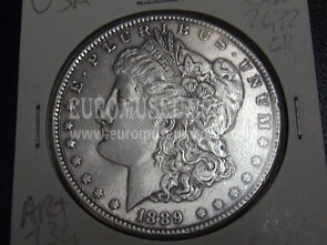 1889 Stati Uniti 1 Dollaro Morgan in argento