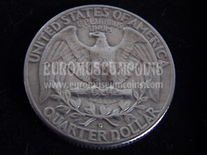 USA quarter dollar Washington dal 1932 al 1964