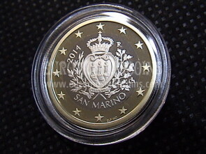 2014 San Marino 1 Euro FS proof