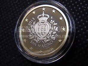 2013 San Marino 1 Euro FS proof