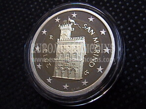2013 San Marino 2 Euro FS proof