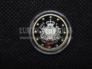 2009 San Marino 1 Euro FS proof