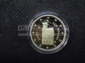 2009 San Marino 2 Euro FS proof
