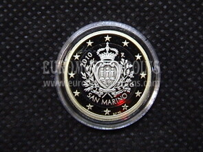 2010 San Marino 1 Euro FS proof