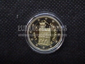 2010 San Marino 2 Euro FS proof