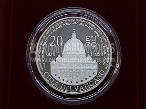 2012 Vaticano 20 Euro in argento PROOF by official set