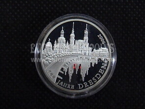 2006 Germania Dresda10 Euro Proof in argento