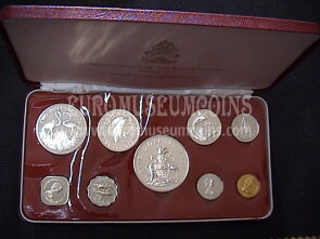 1972 Bahamas set ufficiale proof