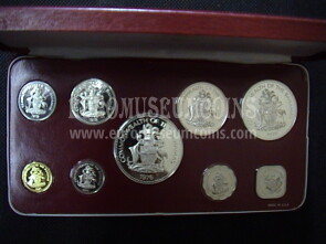 1976 Bahamas set ufficiale proof