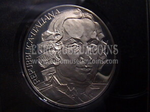 1993 Italia 500 Lire Proof argento Goldoni