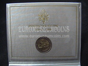 2006 Guardia Svizzera 2 euro commemorativo FDC in folder ufficiale