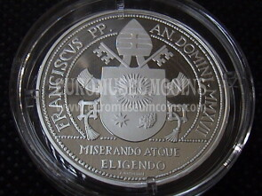 2017 Vaticano 20 Euro Giubileo della Misericordia in argento Proof by official set