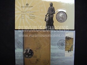 1998 Australia 50 cents Bass & Flinders in coin cover