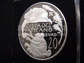 2018 Vaticano 20 Euro Abramo in argento Proof by official set