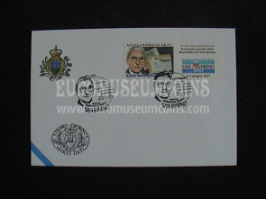 2007 FDC Glaray San Marino