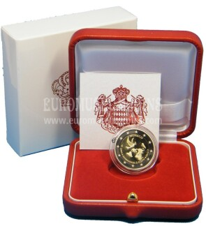 Monaco 2013 ONU 2 Euro commemorativo Proof