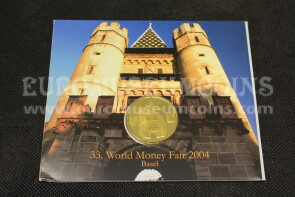 2004 Germania World Money Fair Basel serie ufficiale