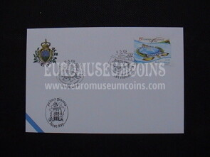 2009 FDC Interpol San Marino