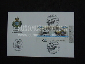 2013 FDC Rally Legend San Marino