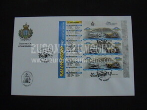 2013 FDC Rally Legend BF San Marino