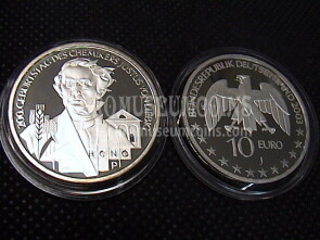 2003 Germania Liebig 10 Euro Proof in argento zecca J