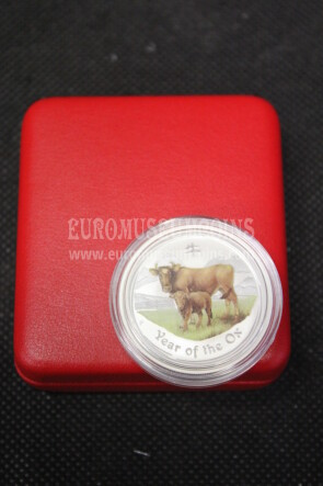 2009 Australia 50 cents argento Proof