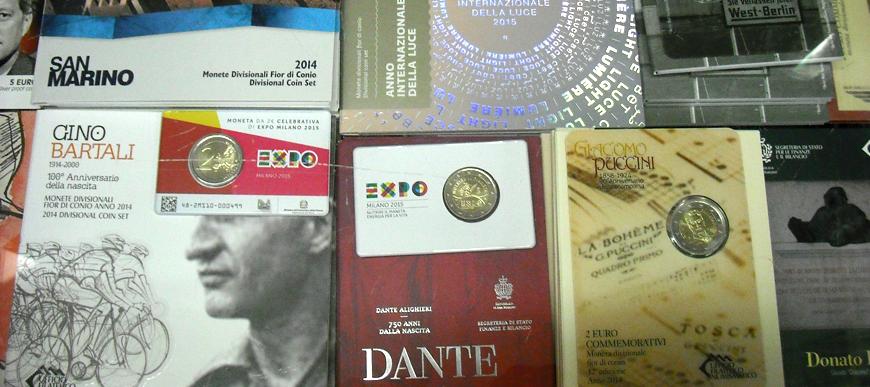 Vendita online monete euro San Marino