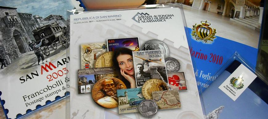 Vendita online francobolli Repubblica di San Marino