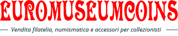 Euromuseumcoins: vendita filatelia. numismatica e accessori per collezionisti